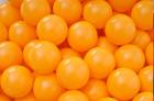 Baller til ballbasseng, Ø6 cm, oransje, 500 stk