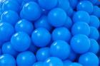 Baller til ballbasseng, Ø6 cm, blå, 500 stk