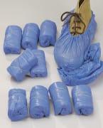 Skoovertrekk  25my blå (100)