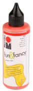 Vindusmaling Fun & Fancy, 80 ml, rød