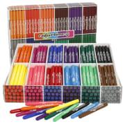 Colortime Tusj, 24x24stk, ass. farger