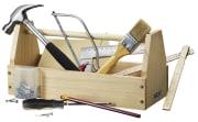 Verktøykasse med verktøy