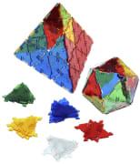 Crystal Polydron triangler, 100 deler