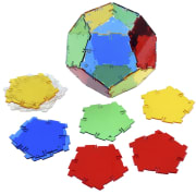 Crystal Polydron pentagon, 24 deler