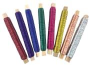 Metalltråd 0,5 mm, 8 x 50 m. ass farger
