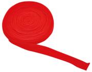 Tubestrikk 3 cm rød. 10 m.
