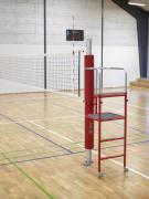 Beskyttelse 2-delt til volley  Til stolpe m/dommerstige Ø110
