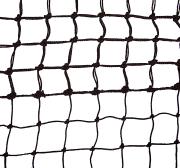 Tennisnett ''Top-Spin'' 2,5mm  L1272 x H107 cm. Sort PE