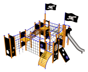 Piratborgen Davis, standard