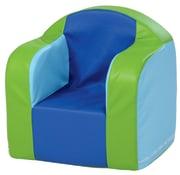 Milas skumstol , blågrønn