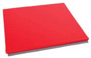 Beskyttelsesmadrass for vegg, rød