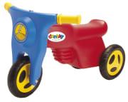 Plastmotorsykkel m/harde hjul