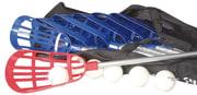Lacrosse. 12 stk. køller  6 stk baller