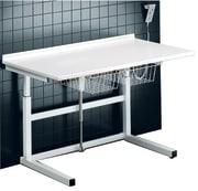 Frittstående stellebord uten vask, 80 x 140 cm