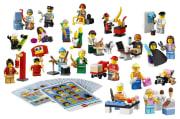 Lego Rollefigurer, 256 deler (utgått)