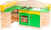 Milas hjørnekjøkken, grønt