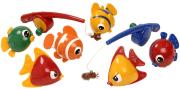 TOLO magnetisk fiskesett, 9 deler