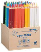 Lyra Super Ferby fargeblyant. 96 ass. i trekasse