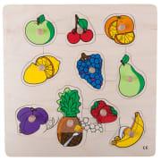 Knoppuslespill, frukt