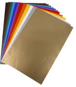 Glanspapir 32 x 48 cm. 85 gr, 100 ark ass. farger
