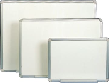 Whiteboard lakkert 60x90cm m/alu.ramme