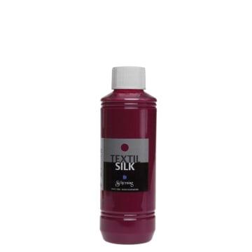 Textil Silk, 250 ml, mørk rosa