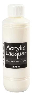 Akryllakk, værbestandig, 250 ml