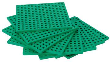 Byggeplater til Plus-plus mini, 12 stk