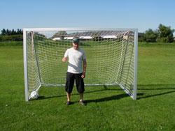 Håndball/Lekeplass mål  200x300 D100/100