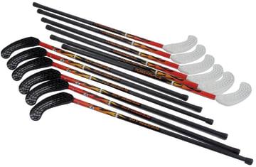 Hockey Powerblade V6 Skruge  12 køller +3 baller