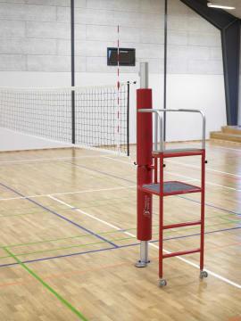 Volleyball dommerstige  Til fastgjørelse på stolpe