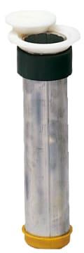 Hylse med skruegevind Ø63,5  Med flange og deksel