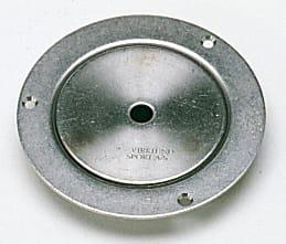 Deksel, Ø115 x 21 mm, rustfri  Til badminton