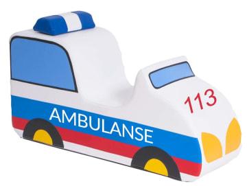 Ambulanse i skum