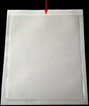 Plastlommer, selvklebende (10 stk)