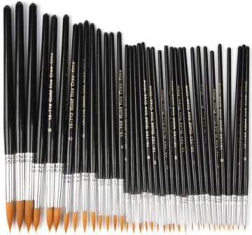 Gold Line Pensel, nr. 0-22, B:1,5-8mm, 36 ass.