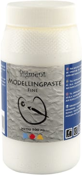 Pigment Modelleringspasta, 500 ml, fin