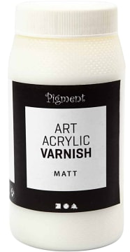 Art Acrylic sluttfernis, (matt) 500 ml