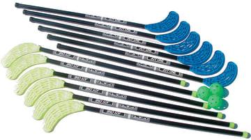Hockeykøller joy-one 12 stk.  105 cm. inkl. blad.
