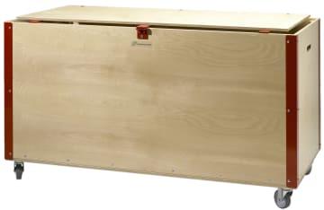 Idrettslekekasse uten innhold  L121xB60xH60cm.
