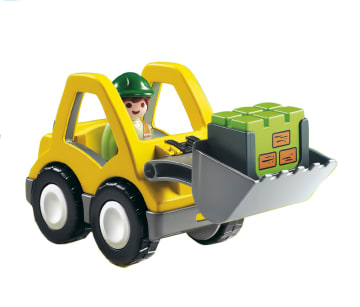 Playmobil liten traktor