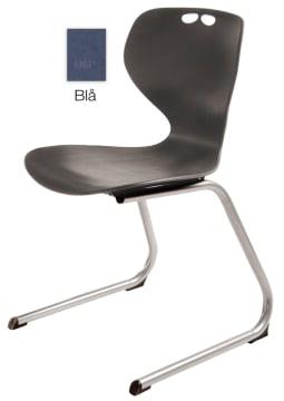 Rio Z stol, blå. Sittehøyde 45 cm