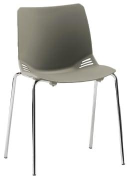 Alexia stablestol, grå