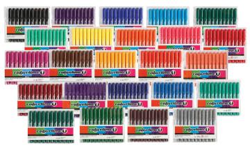 Colortime Tusj, 5mm strek, enkeltfarger