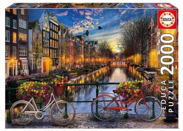 Educa puslespill 2000 brikker, Amsterdam