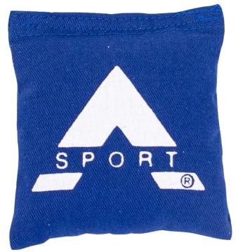 Ertepose blå