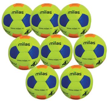 Milas Fotballpakke, 8 stk