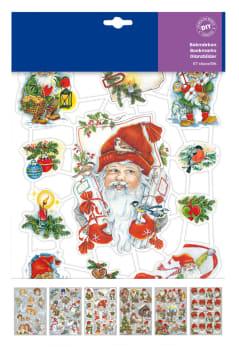 Glansbilder jul, 30 ark