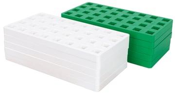 Byggeplater til Plus-plus midi, 10 stk