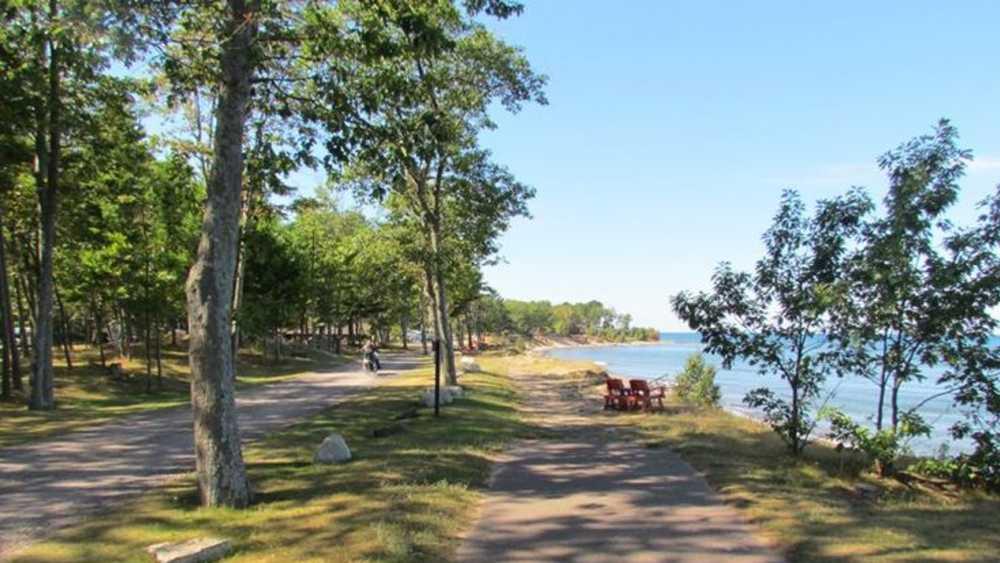 Mclain State Park Michigan